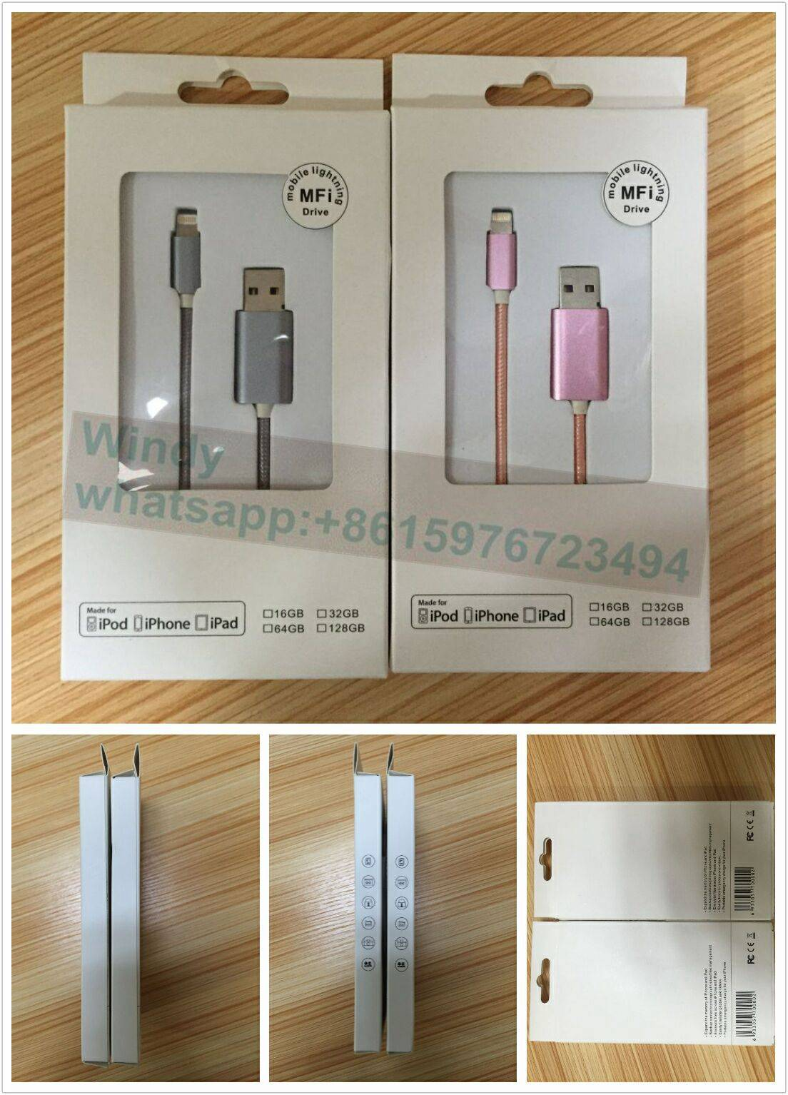 wired U drives for Iphone/Ipod/Ipad