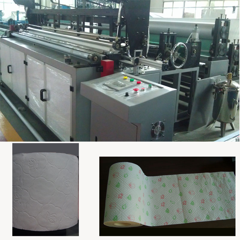 1575B Automatic Kitchen Towel and Toilet Paper Machine
