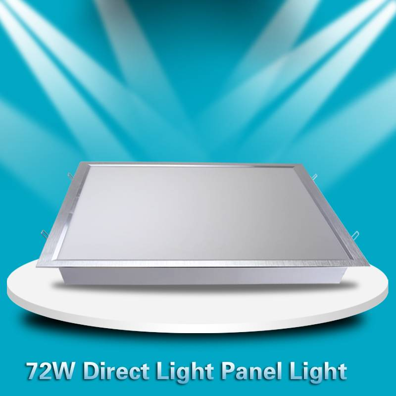 72w Direct LED Panel Lights For Home , Super Brightness 600*600mm