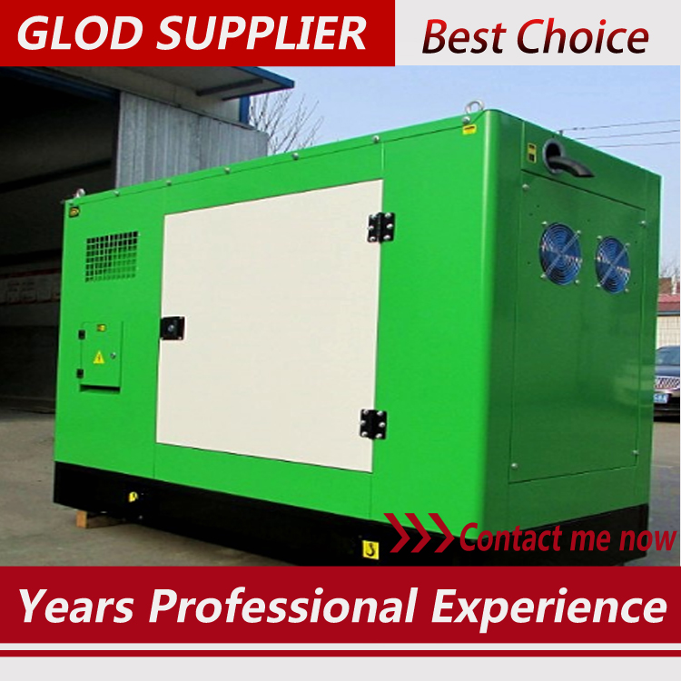 40kw/50kva diesel generator silent with brushless alterantor