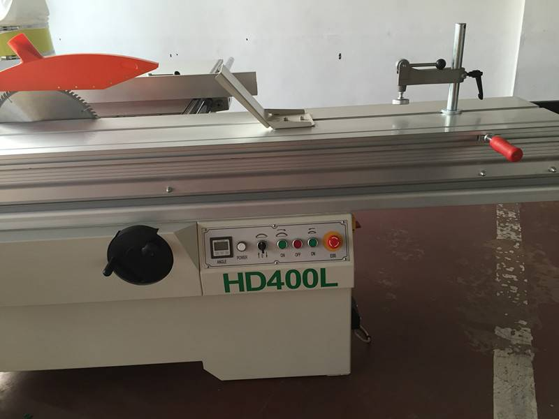 woodworking machine HD400L sliding table saw