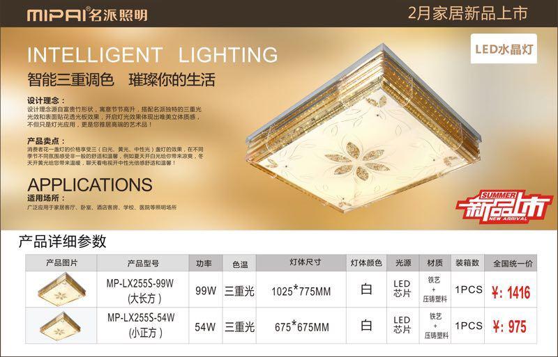 LED modern ceiling light