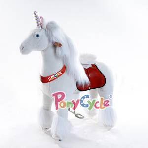 PonyCycle ride on toy is a brand new toy in the market. No power is required, kids can feel just lik