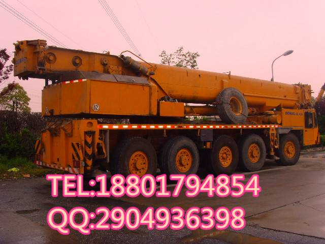 used DEMAG 150t crane good condition for sale