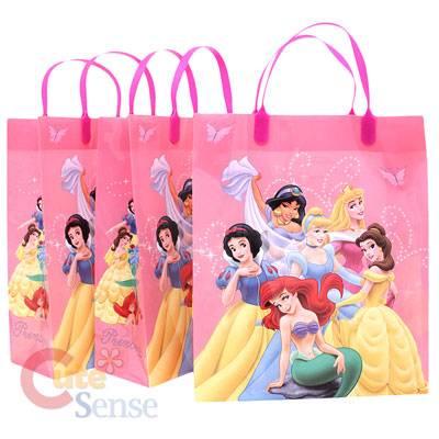 Elegant Disney Custom Handle Plastic Bags
