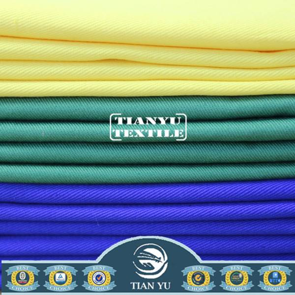 Dyed Twill Polyester Cotton Woven Uniform Fabric Factory