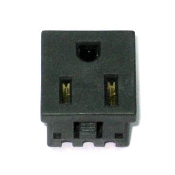 US snap-in Socket, NEMA 5-15R, NEMA 5-20R