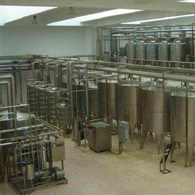 Fruit Juice Filling Beverage Processing Equipment With Pasteurizer