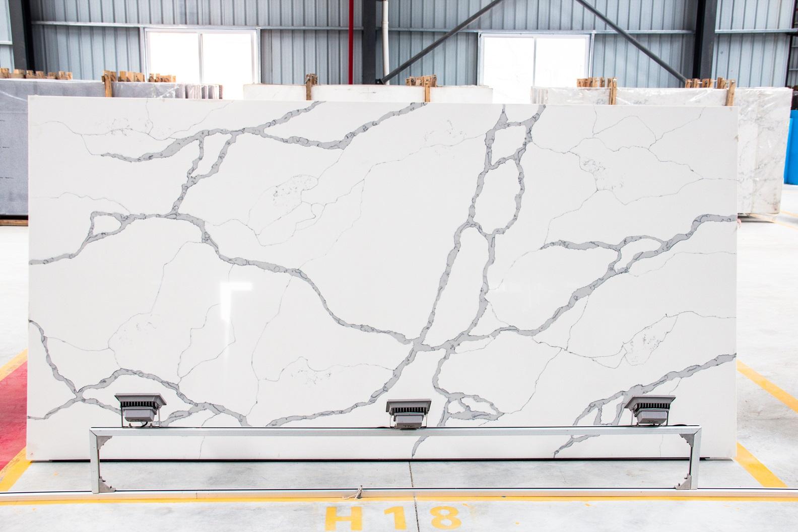 calacatta vagli marble quartz slab