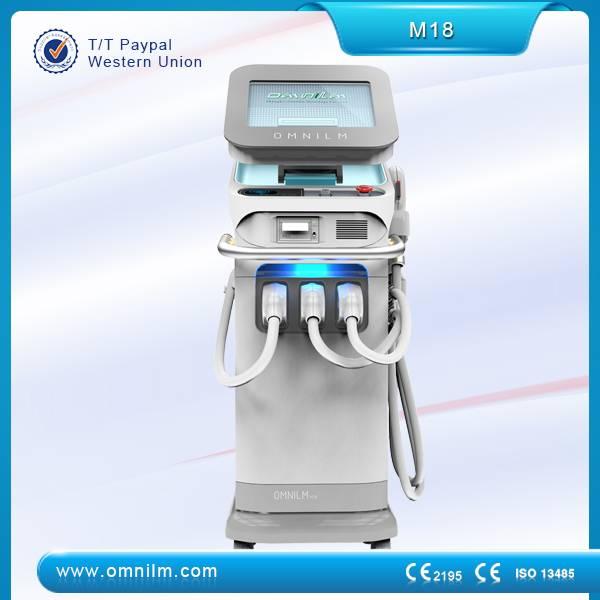2015 best selling  3 in 1 multifunction IPL SHR machine for  hair removal ,skin rejuvenation ,  tatt