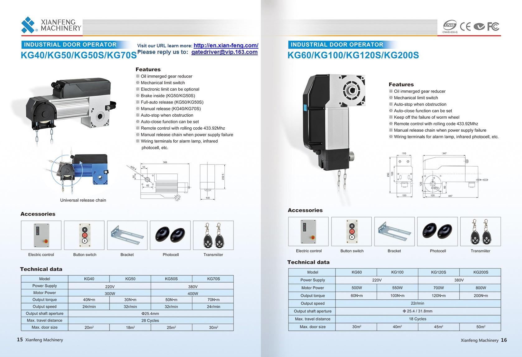 Automatic Industry Gate Operator Kits