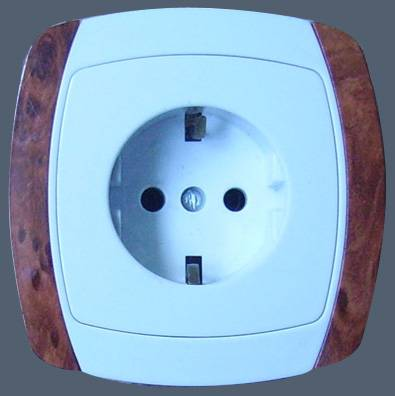 European style wall socket (SR-2206)