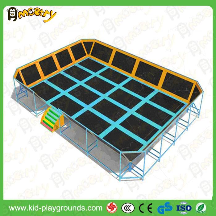 Factory price trampoline park indoor commercial cheap trampoline for sale