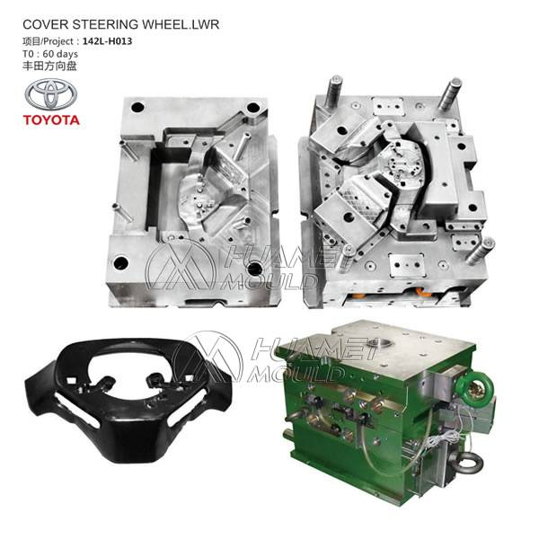 Cover Steering Wheel Lwr Mould