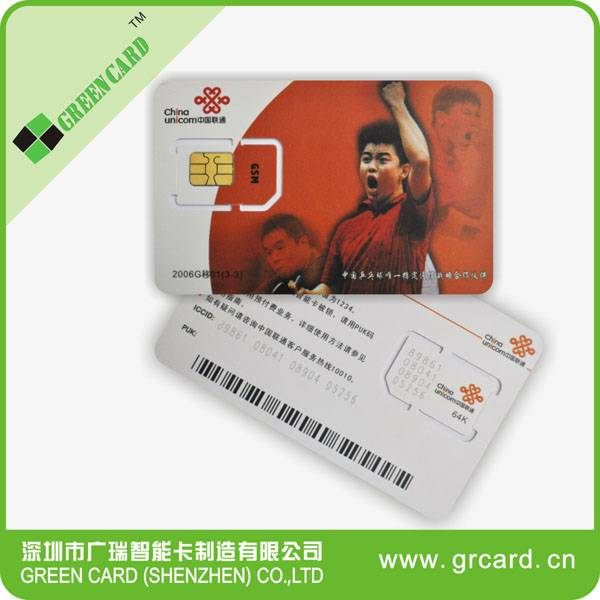 USIM mobile phone sim card 128k sim card 6pin blank lte sim card 4g lte sim cards for operator with