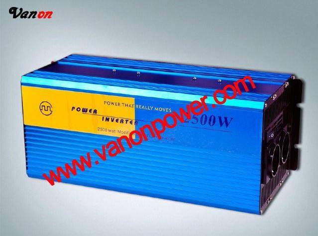 2500W Modified sine wave power inverter (12v/24V to 110v/220v-50/60hz) CE,ROHS
