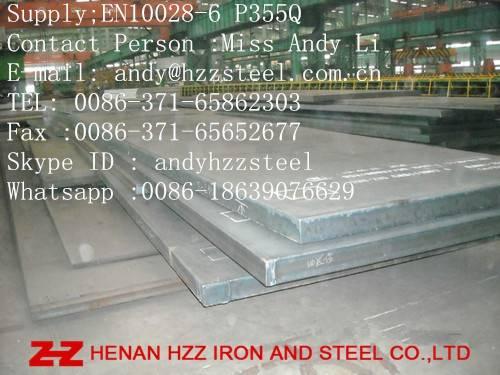 EN10028-6 P355Q|EN10028-6 P355Q Steel Plate|EN10028-6 P355Q Pressure Vessel Steel Plate