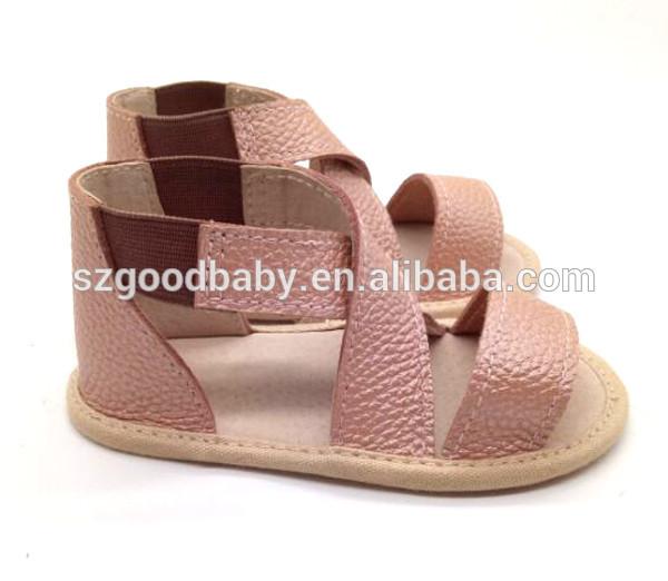 Fashion flat summer sandals 2017 school shoes children sandal kids shoes