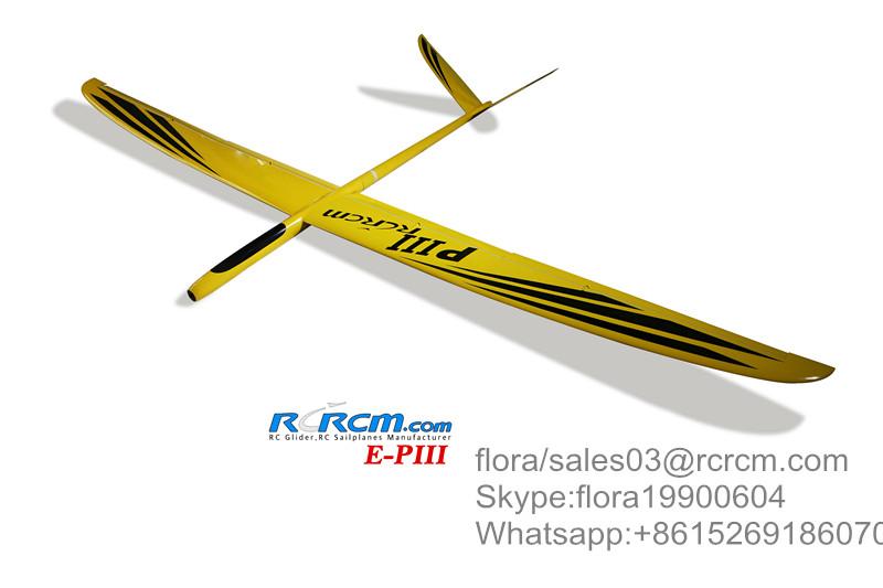 P3 full composite glider of rcrcm