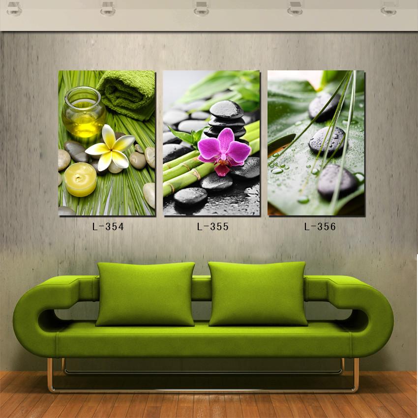 modern landscape oil painting cobblestone flowers painting picture salon wall decor