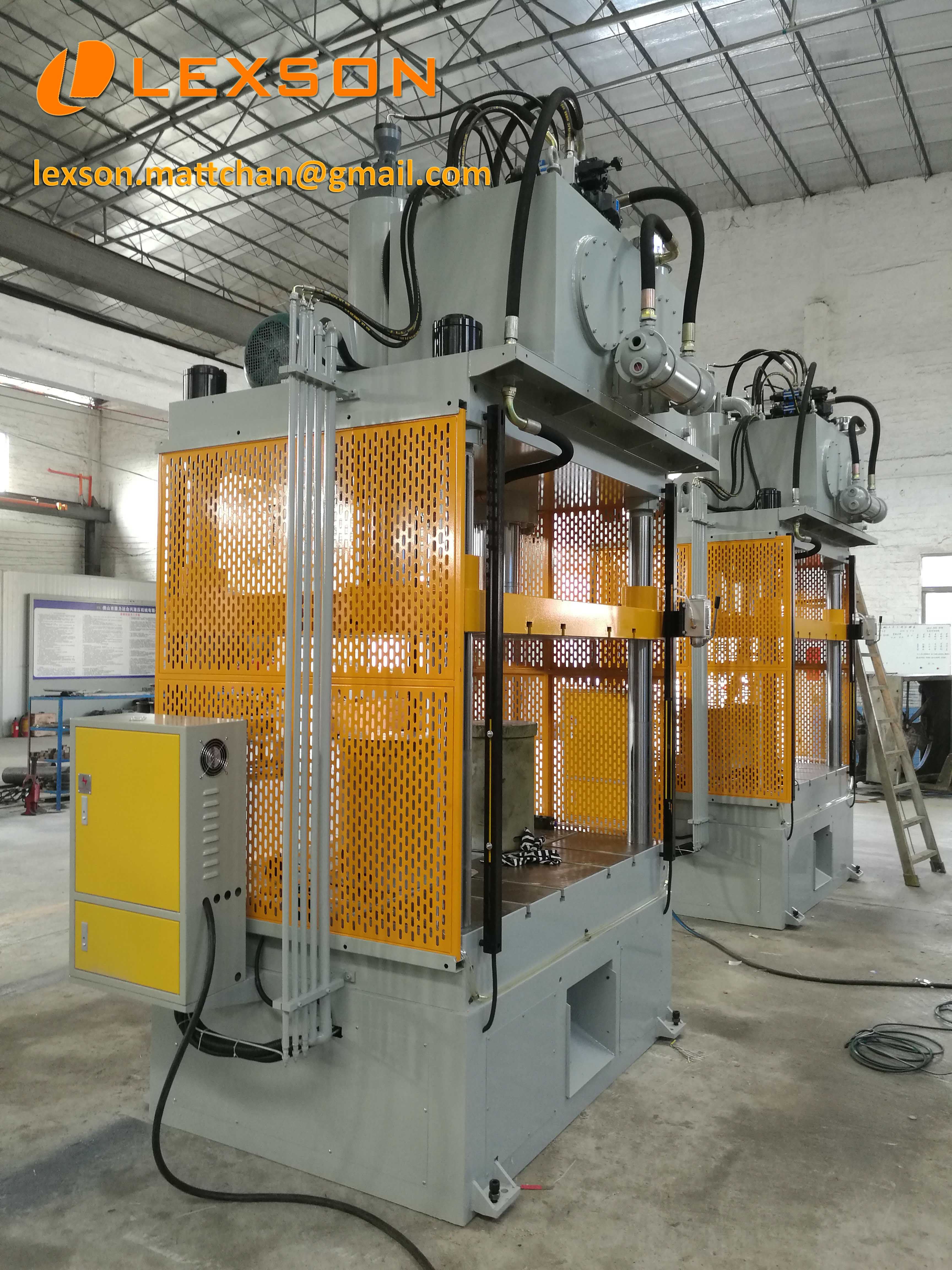 Custom Hydraulic Press Manufacturer Heavy Duty 75 Ton 4 Post Hydraulic Trim Press