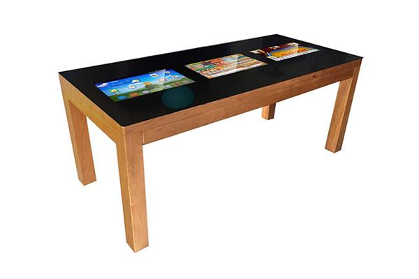 """Xinyan 22"""" Interactive Multi Touch Table Kiosk Advertising Display Box"""