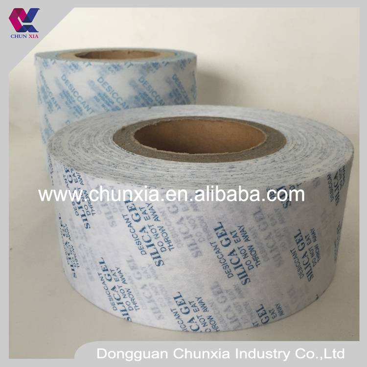 Printed desiccant non woven fabric