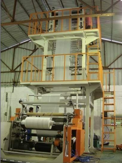 A+B+C multi-layer co-extrusion film blowing machine