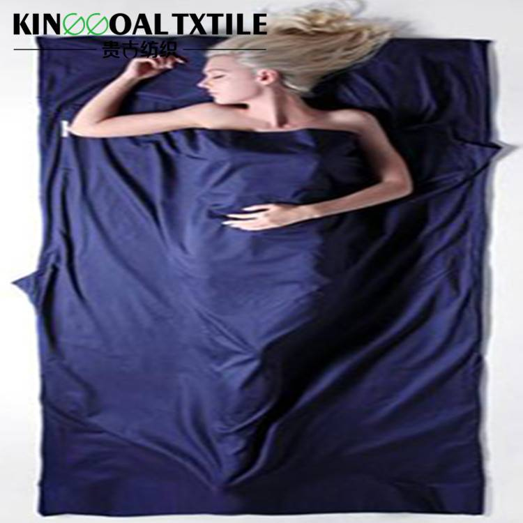 Silk travel sleeping sheet