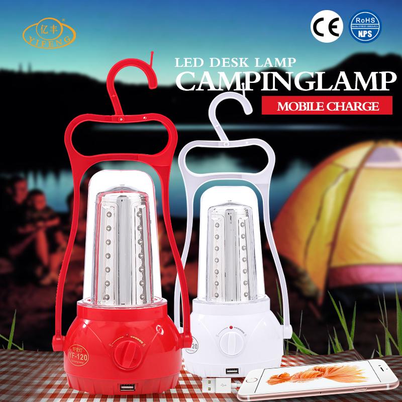 YiFeng YF-120 Hot-selling Save Energy Weatherproof Solar Camping Lamp