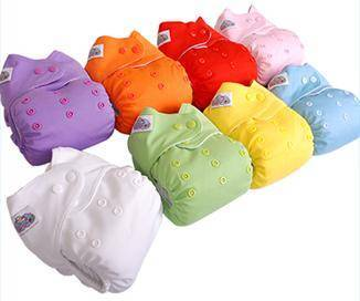 Plain PUL Cloth Diapers