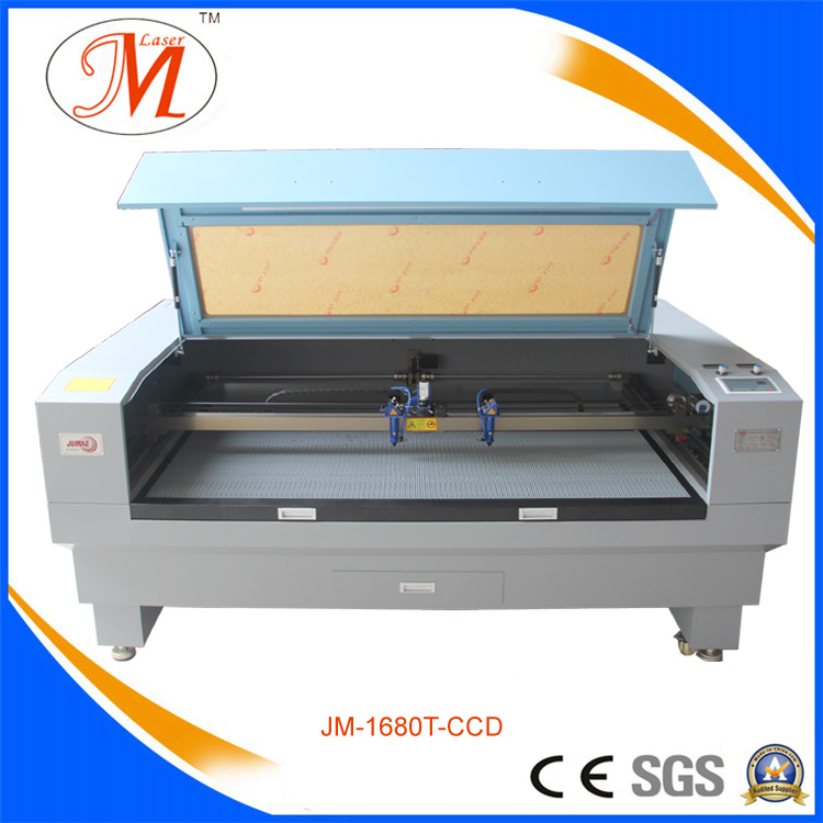 High Precision Laser Cutting Machine with Sealed Laser Tube (JM-1680T-CCD)