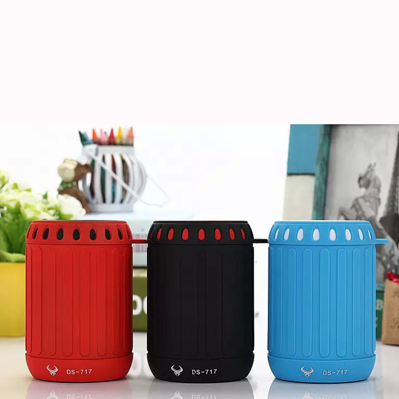 New portable mini bluetooth speaker with great quality PW-BS717