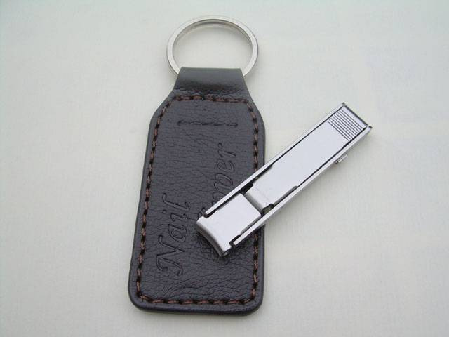 Nail clipper with PU pouch