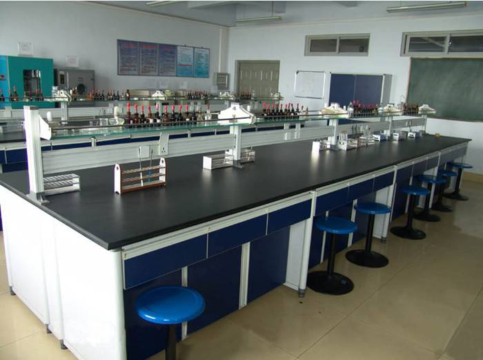 practical,laboratory island bench steel wood bench