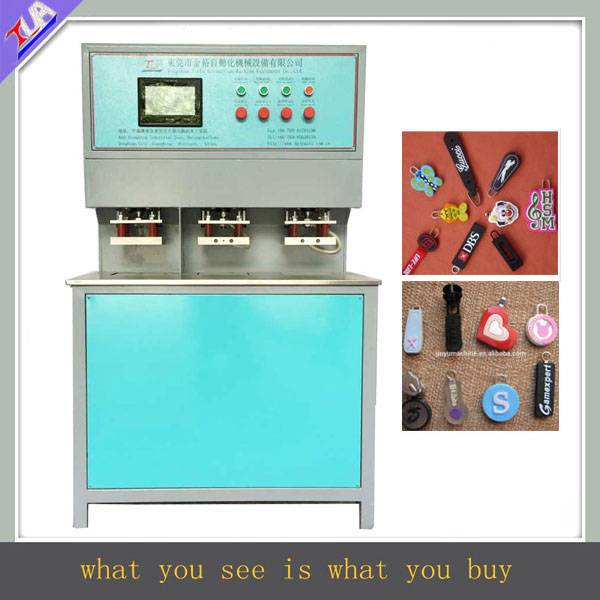 hot selling pvc zipper puller pressing machine with factory price