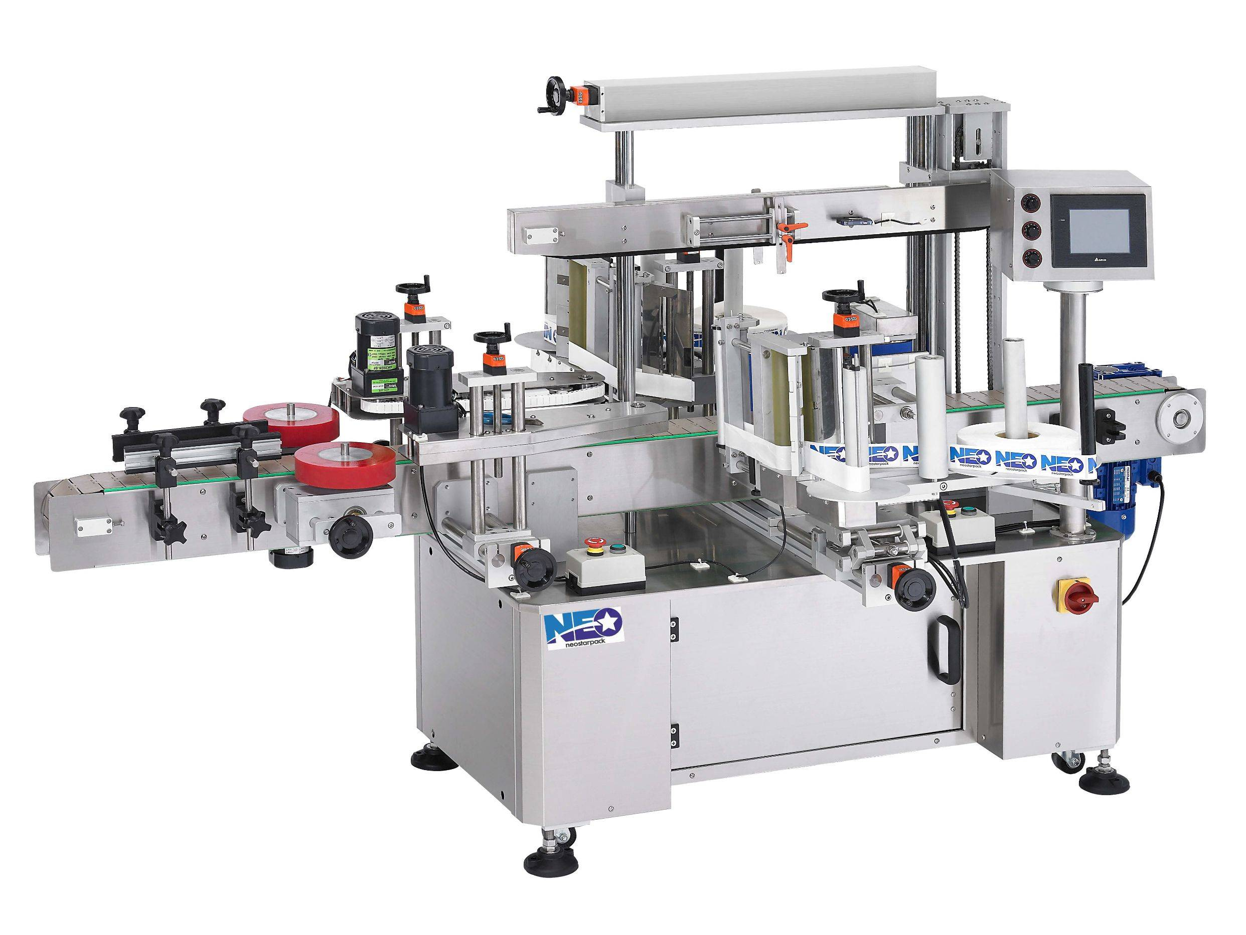 High Speed Front and Back Labeler NLD-400