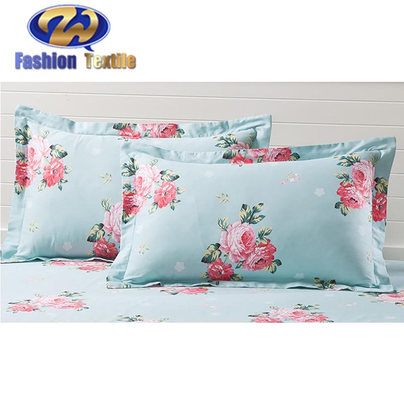 Durable applique patterned picture pillow cases