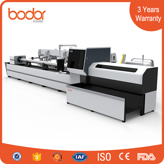 China top manufacture automatic loading tube fiber laser cutting machine T6A