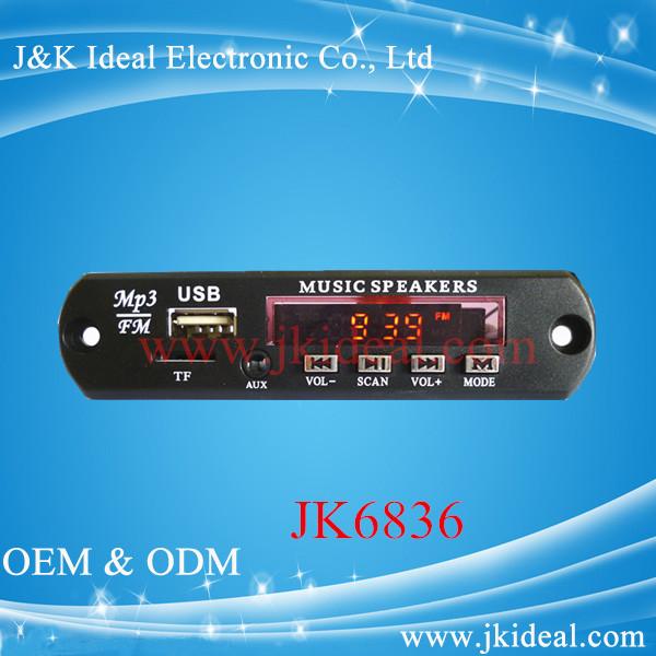 new high quality usb fm tf card radio mp3 audio car sound module