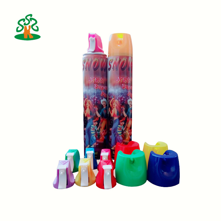 snow spray for carnival, party
