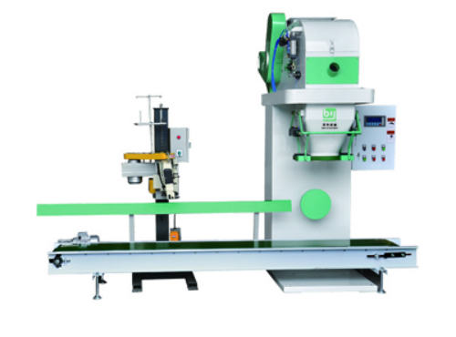 Open Mouth Bag Packing Machine Belt Type Bagging Machine, filling packing machine for Flaky Material