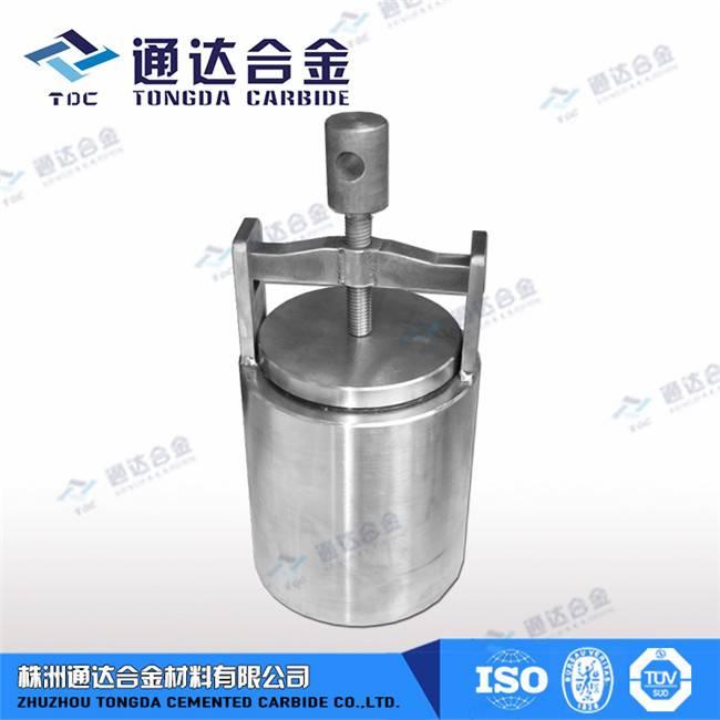 Carbide grinding tank