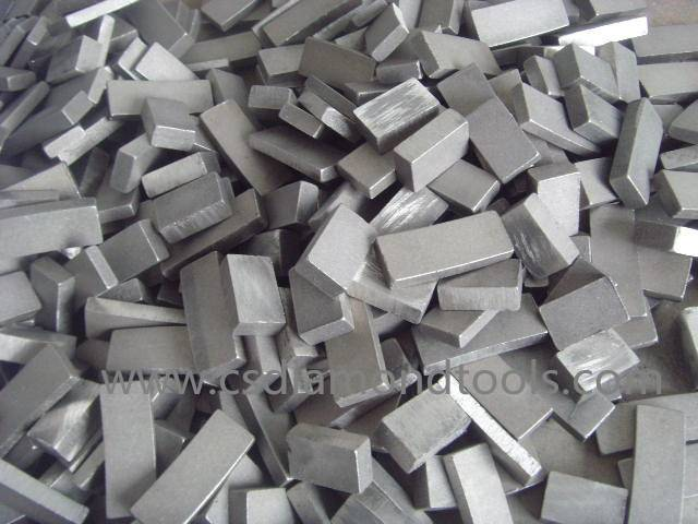 customizable diamond segment for cutting sandstone basalt diamond saw blade cutting block