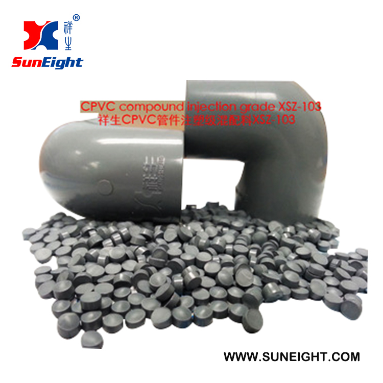 High Quality XSZ-103 CPVC Plastic Raw Material Compound for Injection