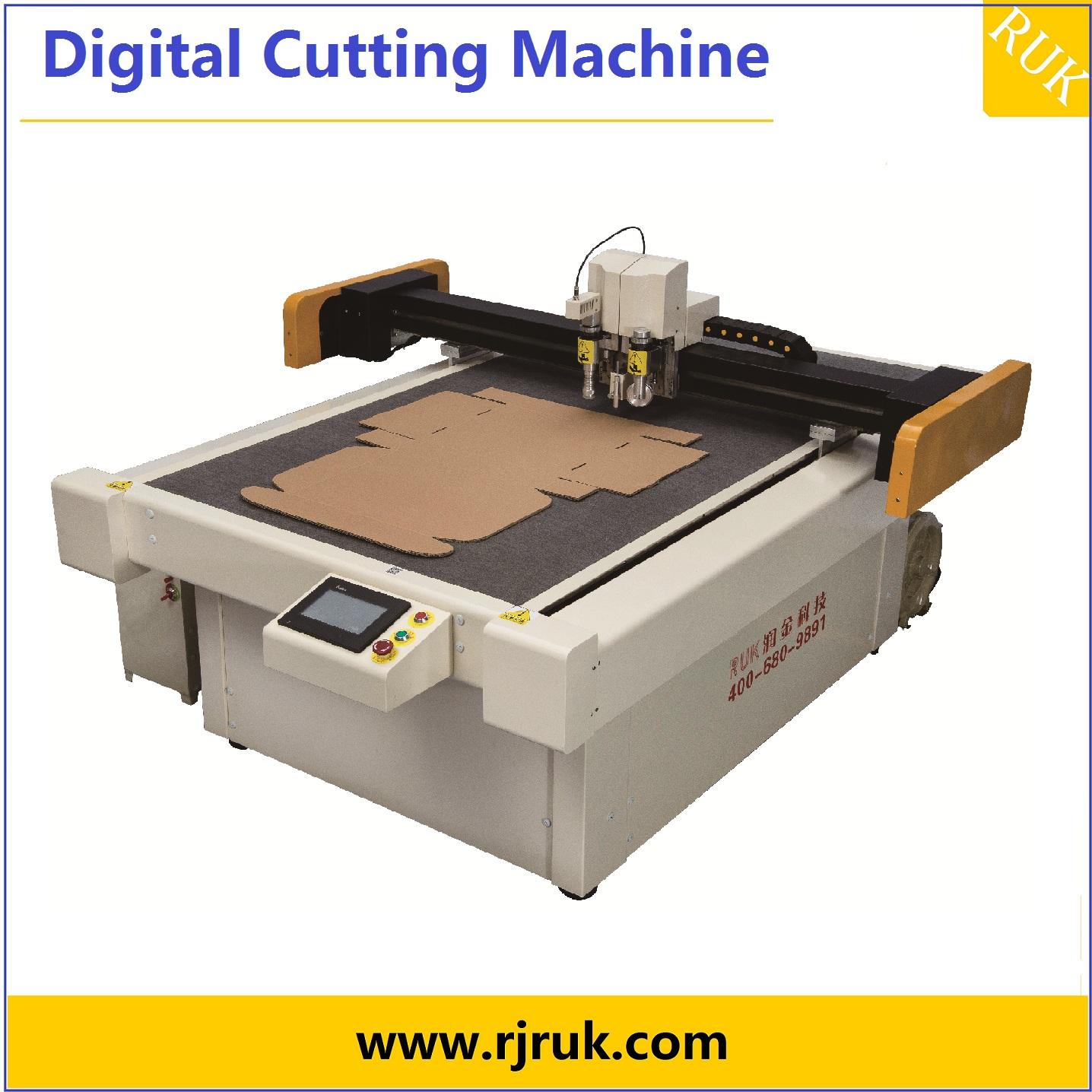 zhejiang RUK colorful gift box cutting machine