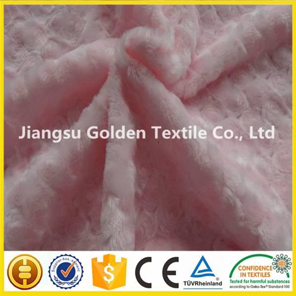 100% polyester printed micro plush polar fleece fabric for blankets