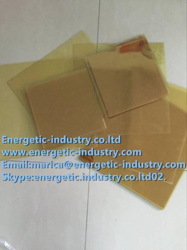 Cut to size PEI sheet with protective films