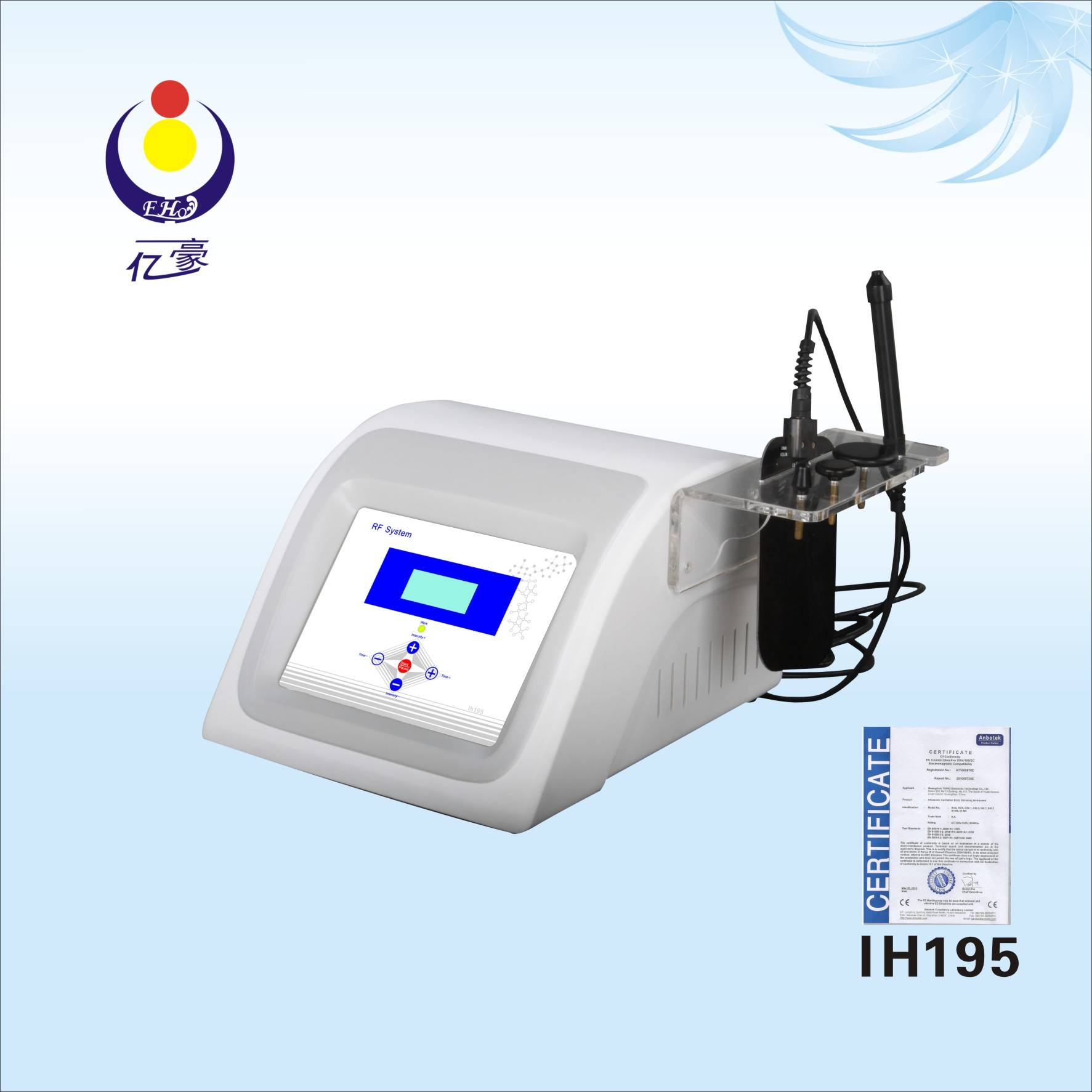 IH195 radio frequency for lifting face wrinkle removal