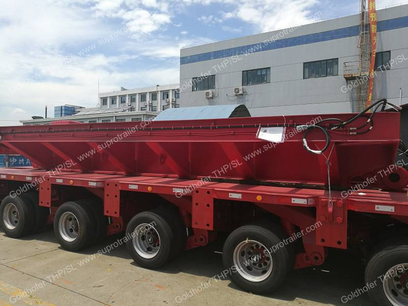 Multi axle modular trailer, Modular Trailer, Heavy Trailer